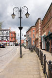 Via di Wrexham Yorke fotografia stock