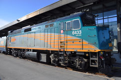 VIA Diesel-Electric Locomotive Stock Images