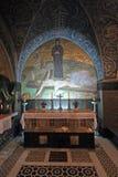 Via Dolorosa, 11de Posten van het Kruis, Jeruzalem Stock Foto's