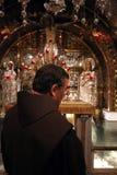 Via Dolorosa, 12de Posten van het Kruis jeruzalem Stock Foto's
