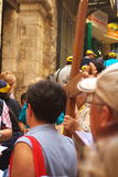Via Dolorosa Pilgrimage Royalty Free Stock Photo