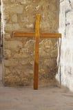 Via Dolorosa wooden cross Royalty Free Stock Photography