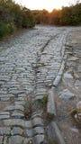 Via Domitia, old estate road royalty free stock image