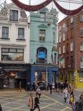 Via Dublino di Dame immagini stock