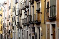 Via e balconi Fotografia Stock Libera da Diritti
