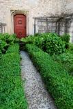 Via e porta del giardino Fotografia Stock Libera da Diritti