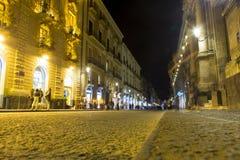 Via Etnea street Stock Image