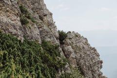 Via Ferrata Climbing In Austria Stock Photos