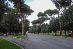Via Fori Imperiali in Rome Royalty Free Stock Images