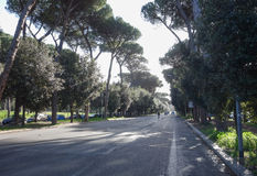Via Fori Imperiali in Rome Stock Images