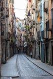 Via a Girona, Spagna Fotografia Stock Libera da Diritti
