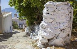 Via graziosa calma della città di Capileira Fotografie Stock