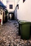 Via Grecia di Rhodese Fotografie Stock