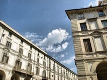 Via il Po, Torino Immagine Stock