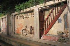 Via imperiale Hangzhou Cina di canzone del sud Immagine Stock