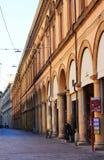 Via Indipendenza Bologna Stock Photo
