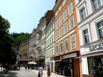 Via a Karlovy Vary 4 Fotografia Stock