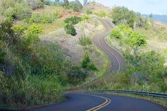 Via Kauai di bobina Fotografia Stock Libera da Diritti