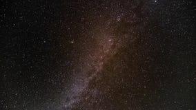 Via Látea no céu noturno filme