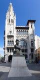 Via Laietana Barcelona Spain Royalty Free Stock Photo