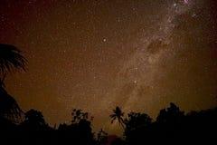 Via Lattea in Bali immagini stock libere da diritti