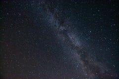 Via Lattea Bello cielo notturno di estate con le stelle Immagini Stock Libere da Diritti
