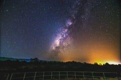 Via Lattea della galassia fotografia stock libera da diritti