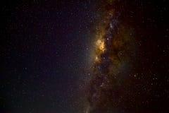 Via Lattea sul cielo profondo Fotografia Stock