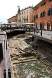 Via Leonie Verona Fotografie Stock