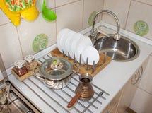 Via Ligth Casa Utensili della cucina fotografia stock libera da diritti