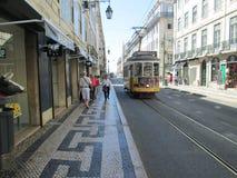 Via a Lisbona Fotografia Stock
