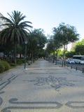 Via a Lisbona immagini stock