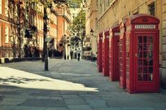 Via a Londra Immagine Stock Libera da Diritti