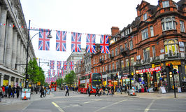 Via a Londra Fotografie Stock