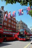 Via Londra di Oxford Fotografia Stock Libera da Diritti