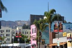 VIA - Los Angeles Fotografia Stock