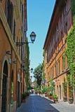 Via Margutta, Rome royalty free stock photo