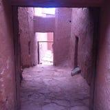 Via marocchina Fotografia Stock Libera da Diritti