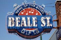 Via Memphis di Beale Fotografie Stock Libere da Diritti