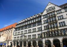 Via a Monaco di Baviera Immagini Stock Libere da Diritti