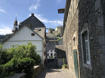 Via in Monschau Immagine Stock Libera da Diritti