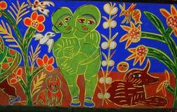 Via murala Melbourne dei cercatori del frammento della via Fotografia Stock Libera da Diritti