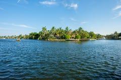 Via navegável do Fort Lauderdale Fotos de Stock