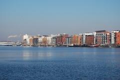Via navegável em Holland Fotos de Stock Royalty Free