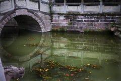 Via navegável arqueada da ponte Imagem de Stock Royalty Free