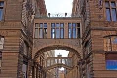 Via nel centro di Praga Fotografia Stock