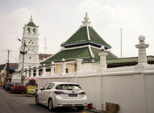 Via nel Malacca Melaka, Malesia Immagine Stock