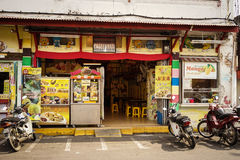 Via nel Malacca Melaka, Malesia Fotografie Stock