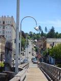 Via nella città di Astoria Fotografia Stock Libera da Diritti