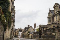 Via nella città di Oxford immagini stock